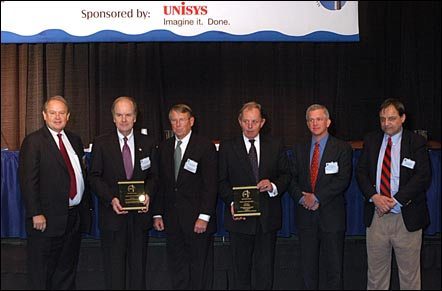 2004 Maritime Security Lifetime Achievement Award presentation